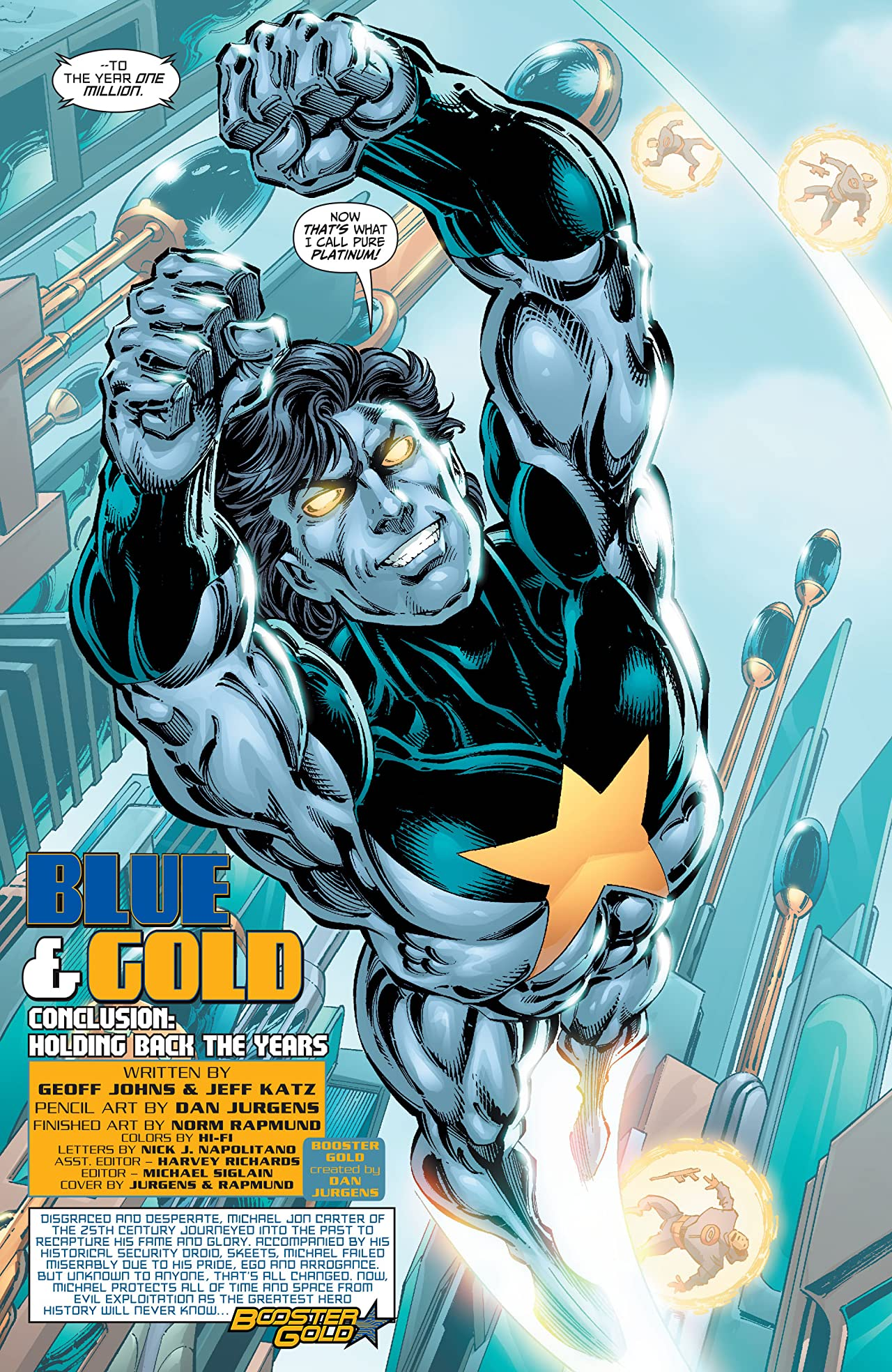 Booster Gold (2007-2011) No.1000000