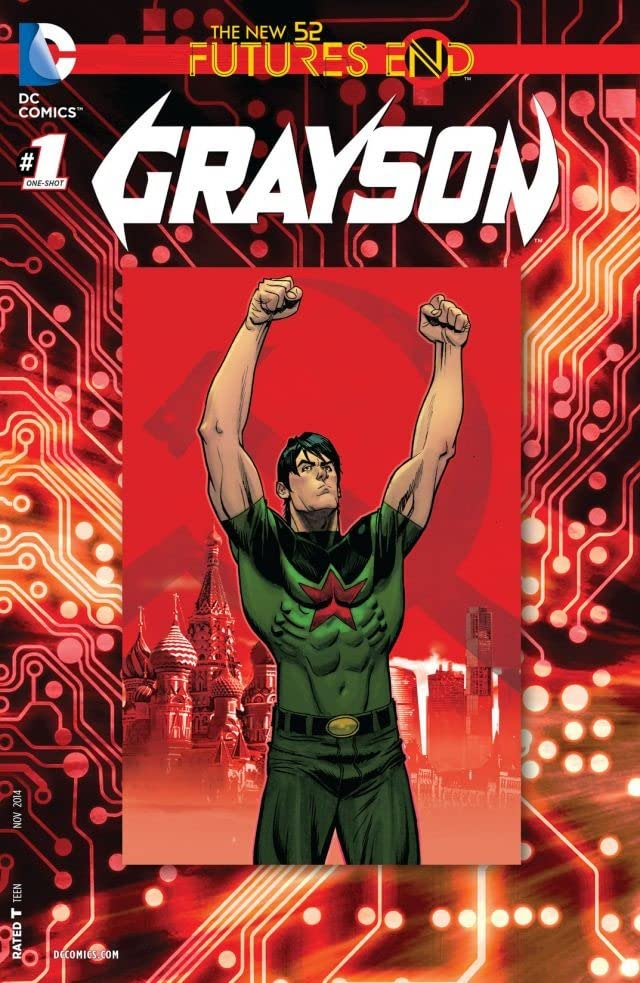 Grayson (2014-2016) #1: Futures End