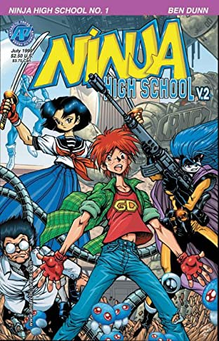 Ninja High School Tome 2 No.1