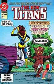 The New Titans (1984-1996) #87