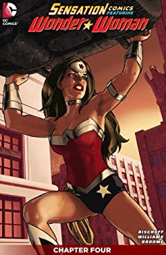 Sensation Comics Featuring Wonder Woman (2014-2015) #4