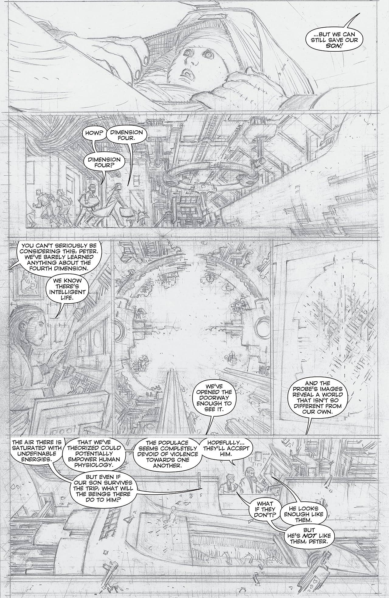 Superman (2011-2016) #1: Geoff Johns and John Romita Jr. Director's Cut