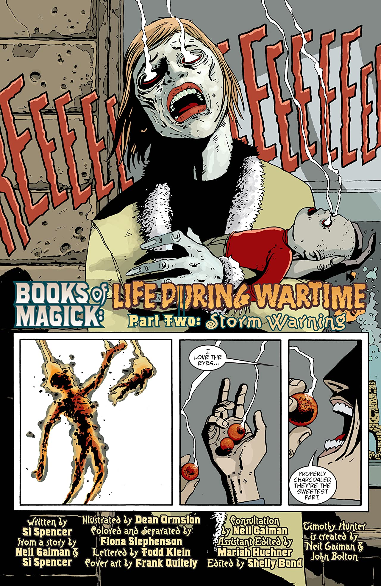 Books of Magick: Life During Wartime (2004-2005) #2