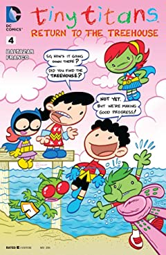 Tiny Titans: Return to the Treehouse #4