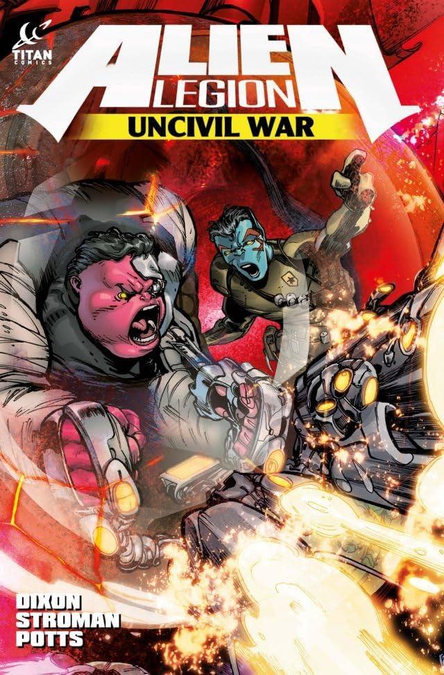 Alien Legion: Uncivil War #4