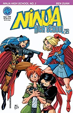 Ninja High School Vol. 2 #3