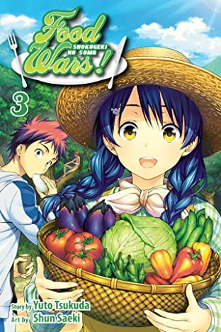 Food Wars!: Shokugeki no Soma Vol. 3