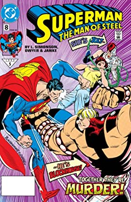Superman: The Man of Steel (1991-2003) #8