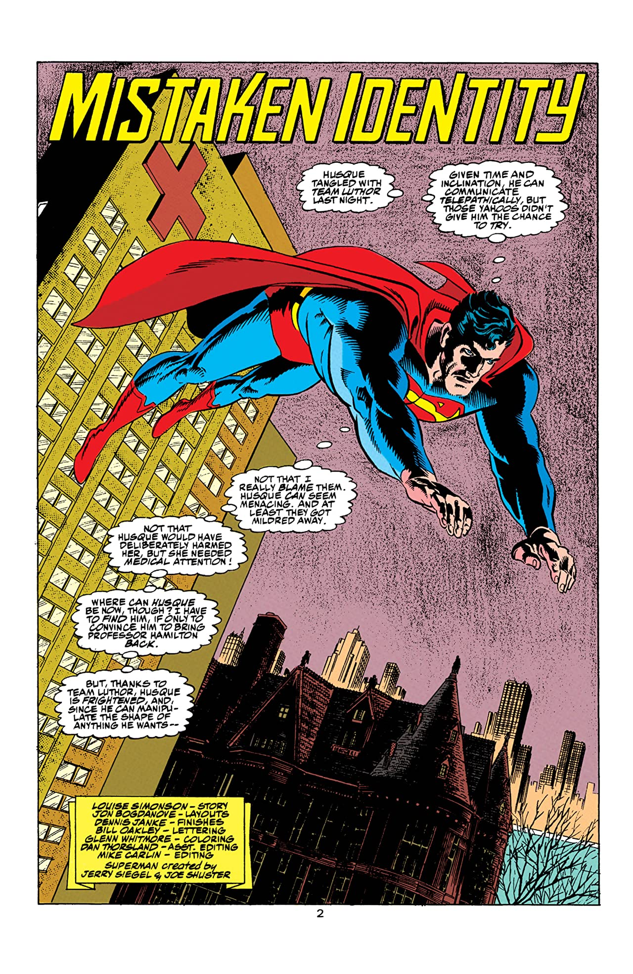 Superman: The Man of Steel (1991-2003) #11