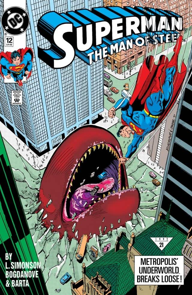 Superman: The Man of Steel (1991-2003) #12