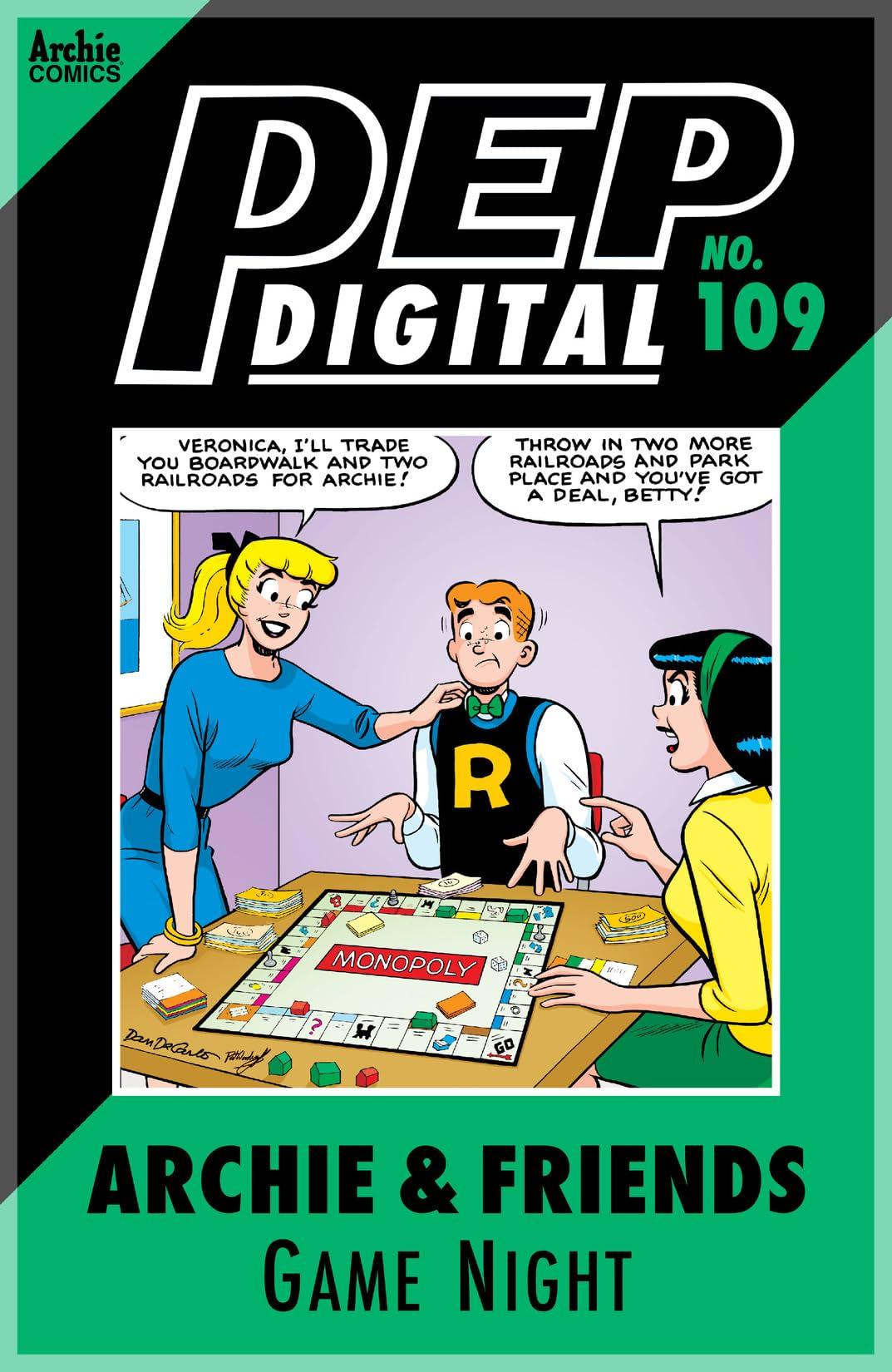 PEP Digital #109: Archie & Friends Game Night