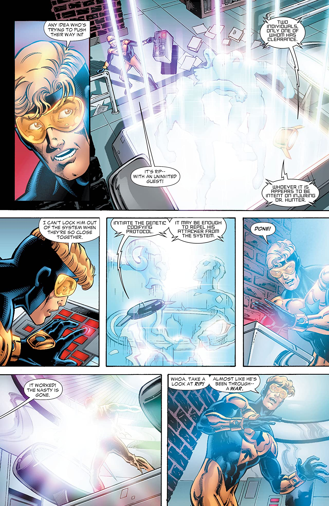 Booster Gold (2007-2011): Day of Death