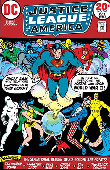 Justice League of America (1960-1987) #107
