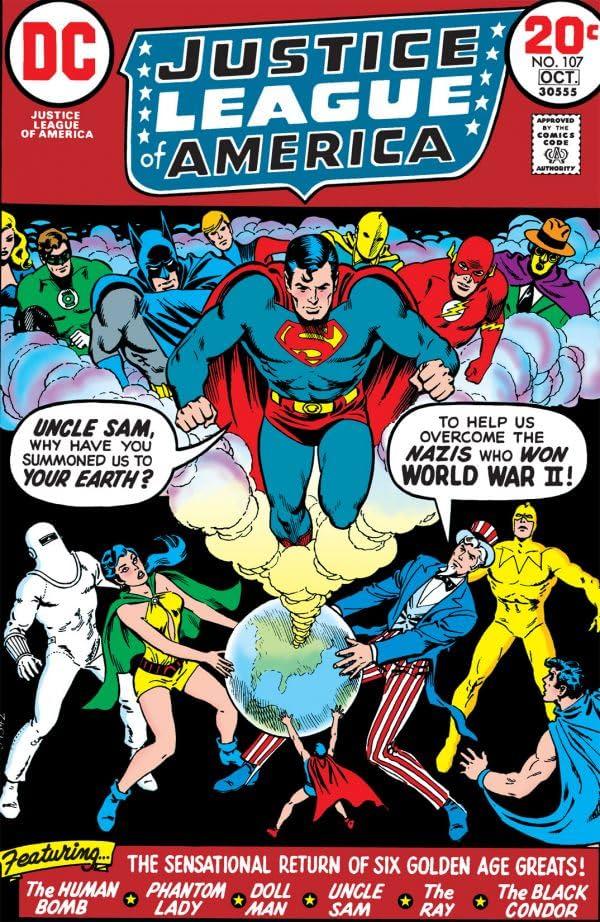 Justice League of America (1960-1987) #107