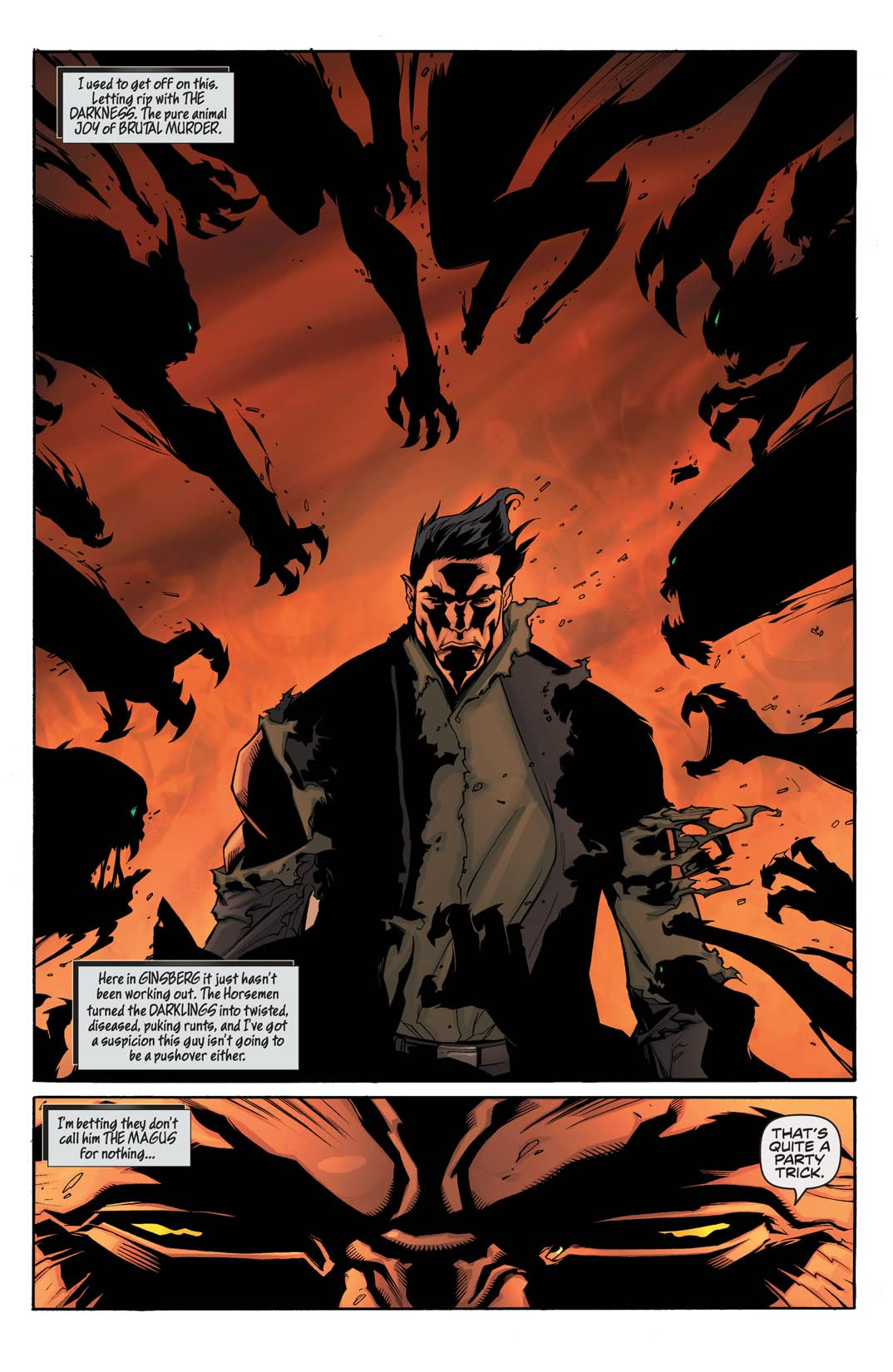 The Darkness: Four Horsemen #4 (of 4)
