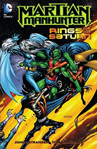 Martian Manhunter (1998-2001): Rings of Saturn
