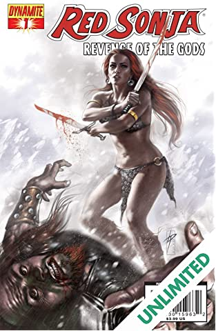 Red Sonja: Revenge of the Gods #1 (of 5)