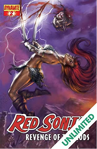 Red Sonja: Revenge of the Gods #2 (of 5)