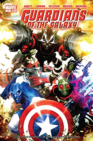 Guardians of the Galaxy (2008-2010) No.7