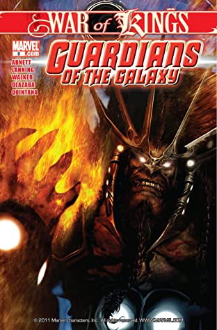 Guardians of the Galaxy (2008-2010) No.8