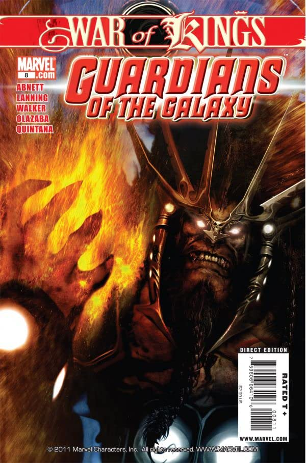 Guardians of the Galaxy (2008-2010) #8
