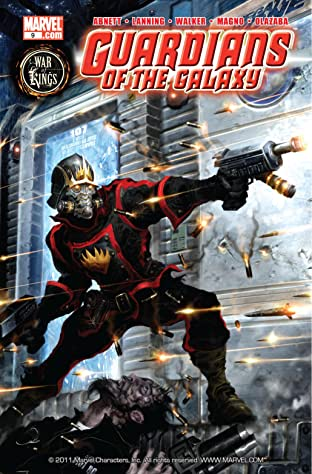 Guardians of the Galaxy (2008-2010) No.9