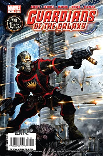 Guardians of the Galaxy (2008-2010) #9