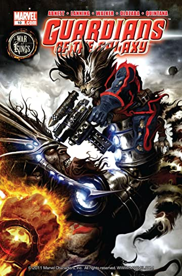 Guardians of the Galaxy (2008-2010) No.10