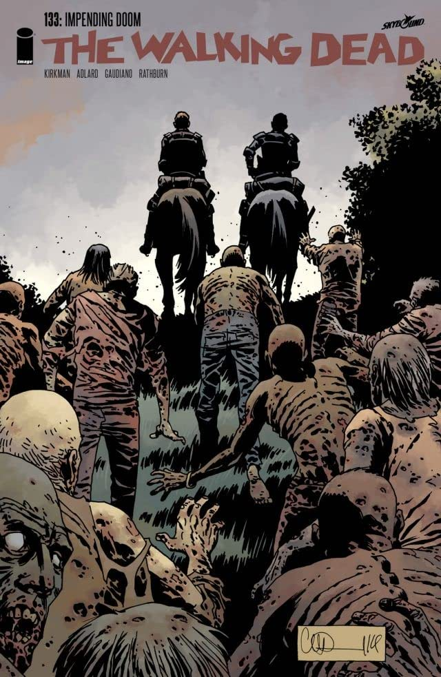 The Walking Dead #133