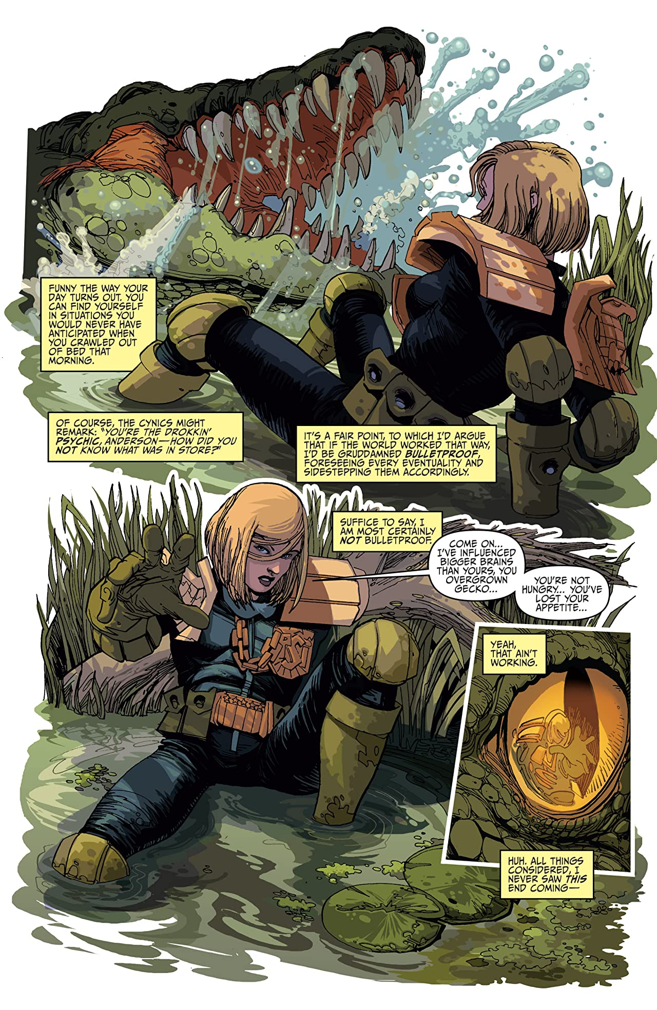 Judge Dredd: Anderson, Psi-Division #2