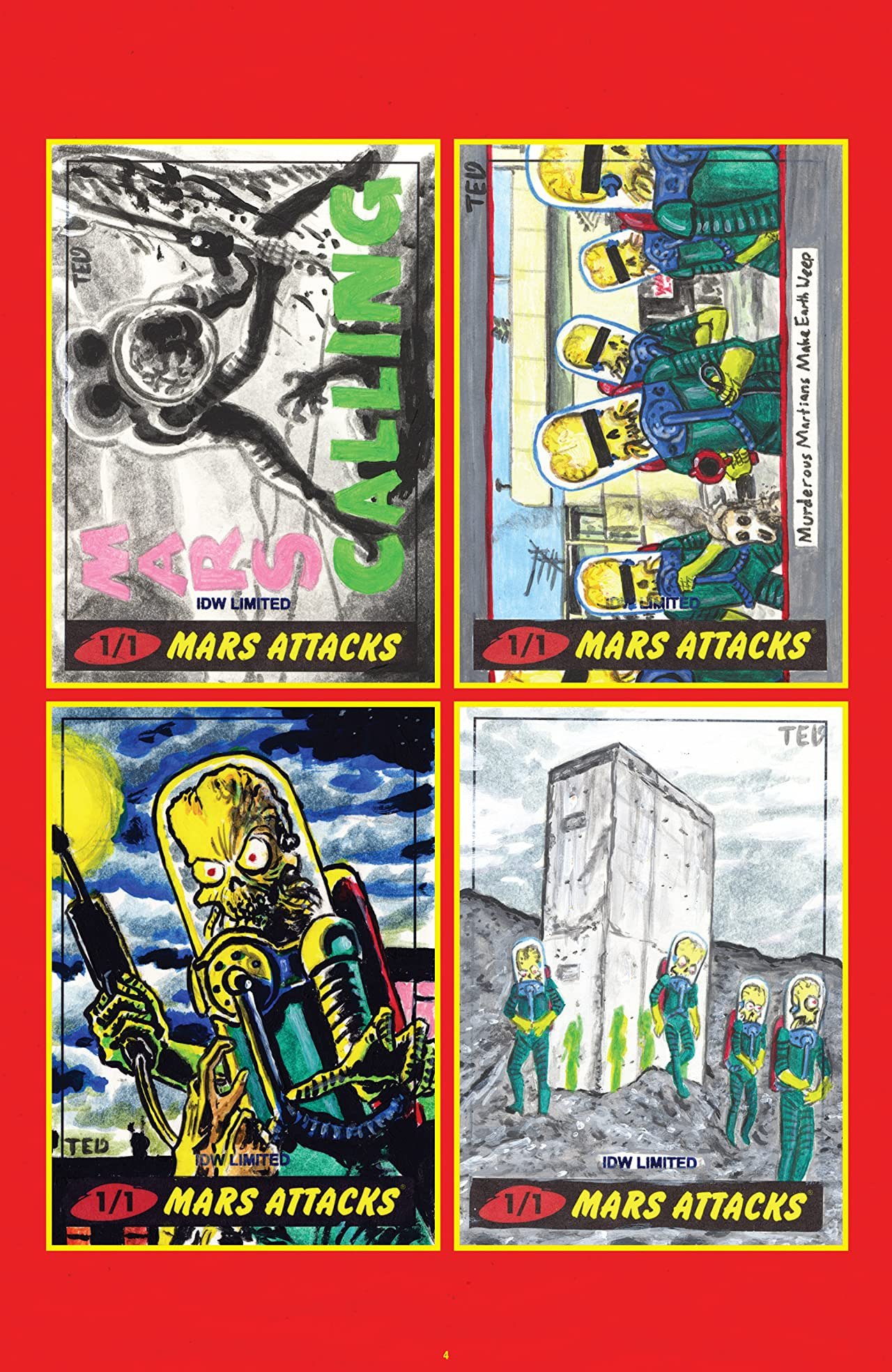Mars Attacks Art Gallery #1