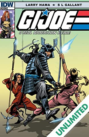 G.I. Joe: A Real American Hero #206