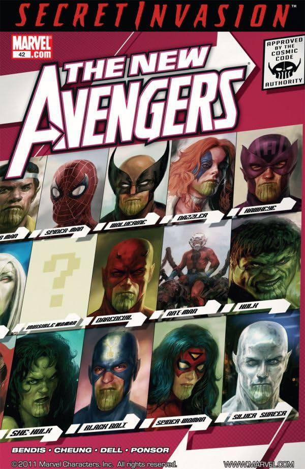 New Avengers (2004-2010) #42