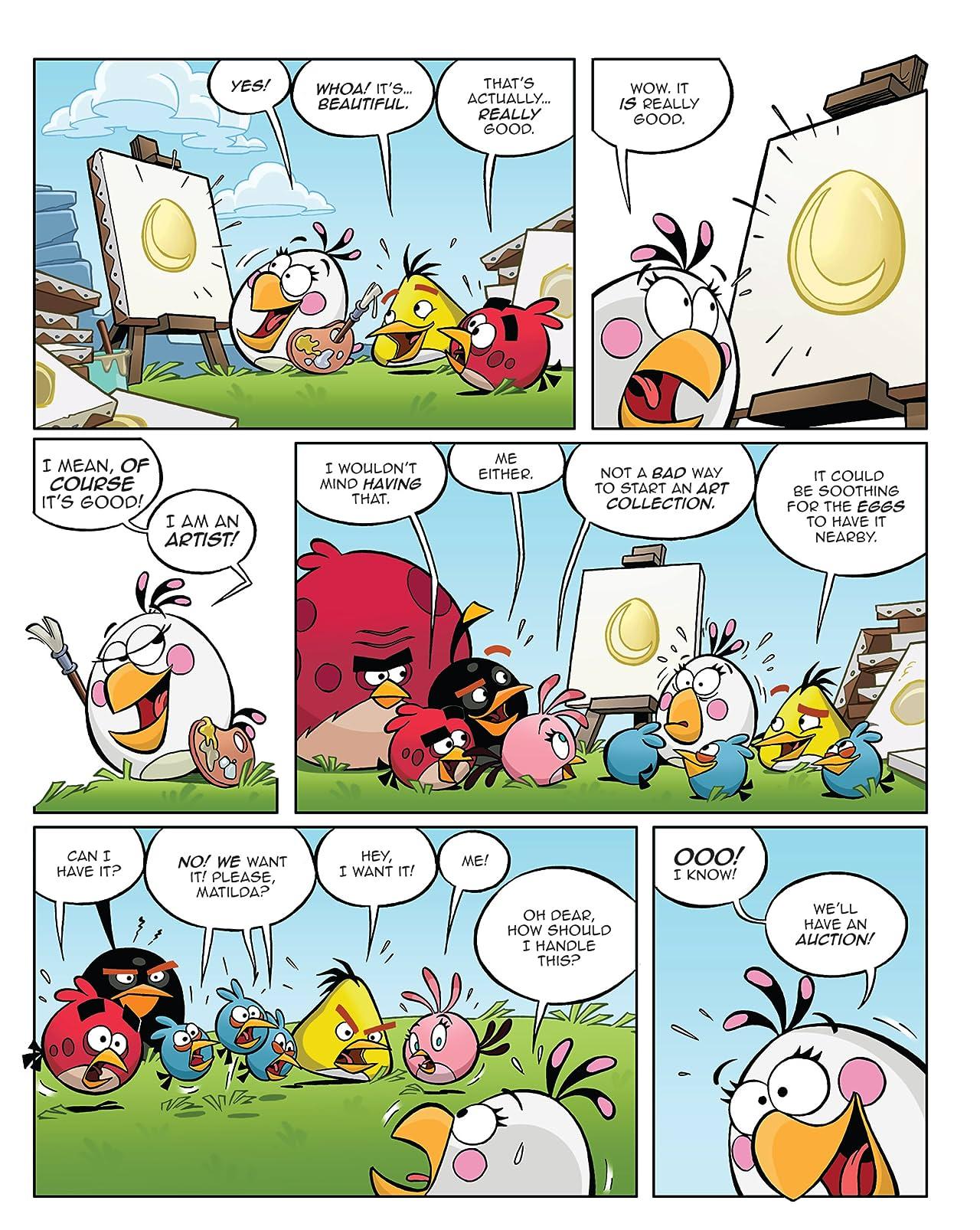 Angry Birds #4: Mini-Comic #8