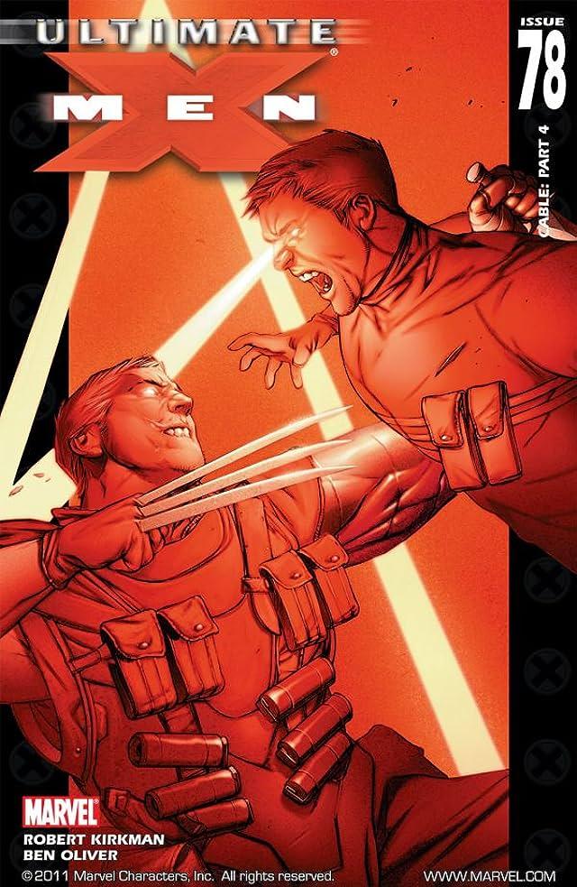 Ultimate X-Men #78