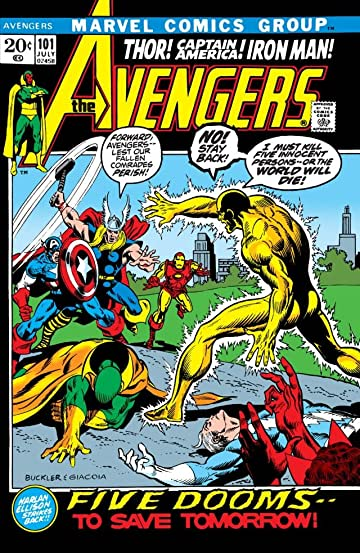 Avengers (1963-1996) #101