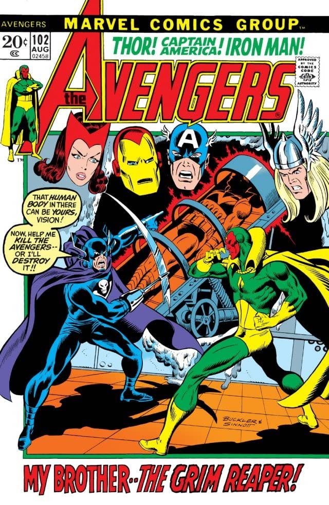 Avengers (1963-1996) #102