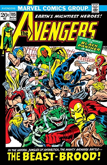 Avengers (1963-1996) #105