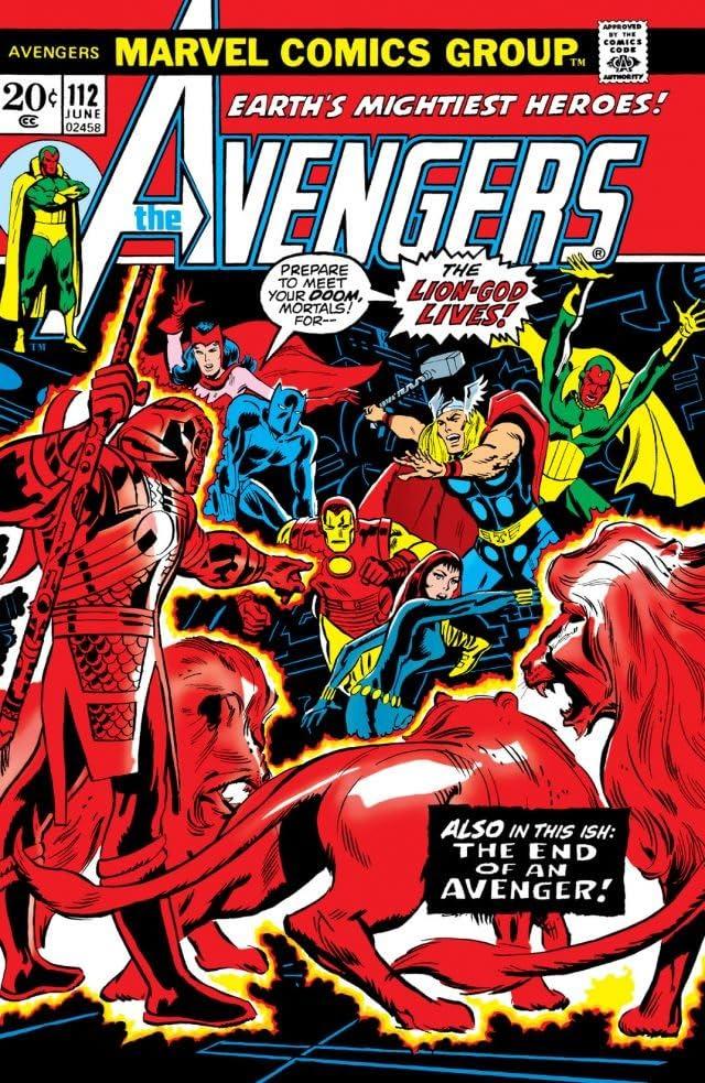 Avengers (1963-1996) #112