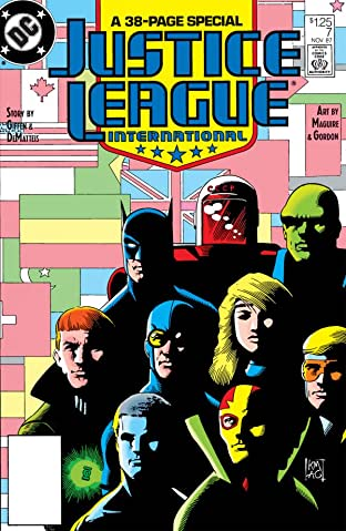 Justice League International (1987-1989) No.7
