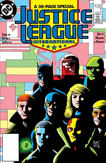 Justice League International (1987-1989) #7