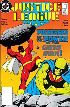 Justice League (1987-1996) No.6