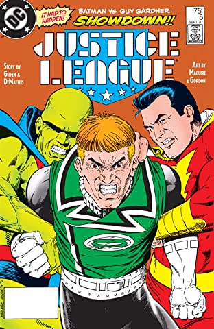 Justice League (1987-1996) No.5