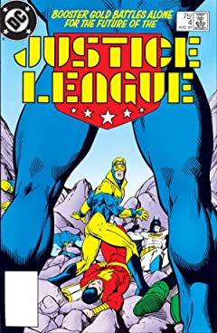 Justice League (1987-1996) No.4