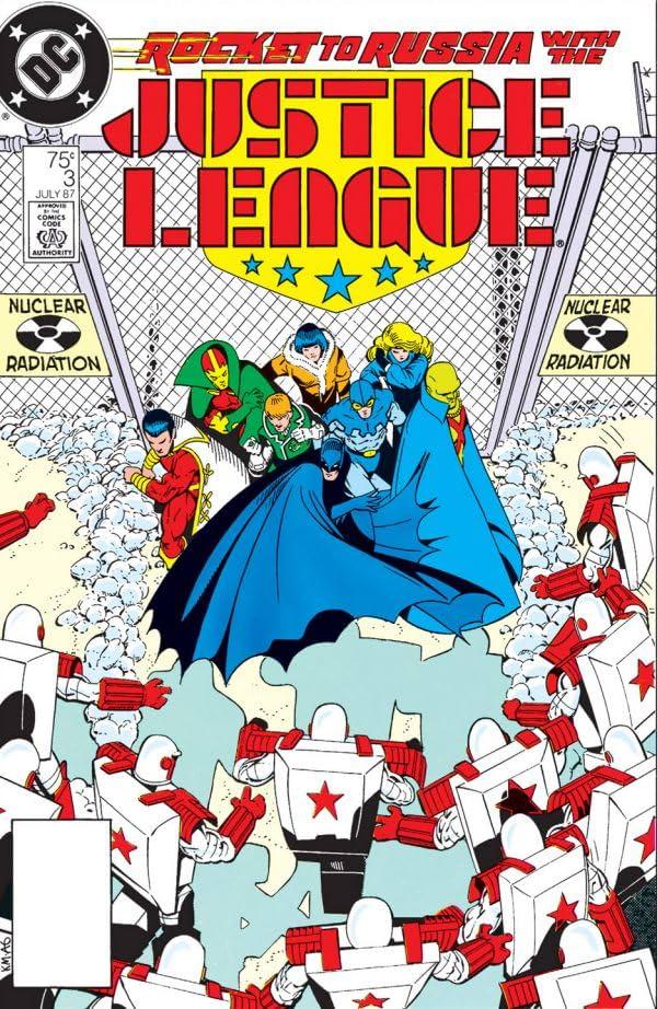 Justice League (1987-1996) #3