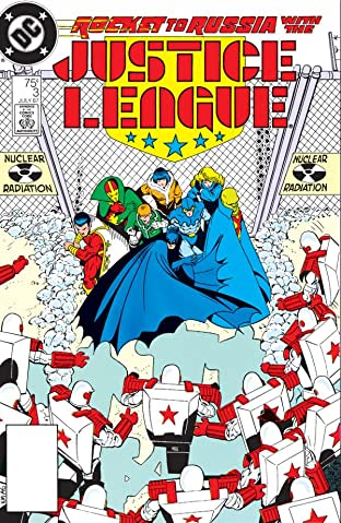 Justice League (1987-1996) No.3