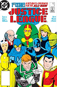 Justice League (1987-1996) No.1