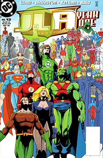 JLA Year One #12 (of 12)