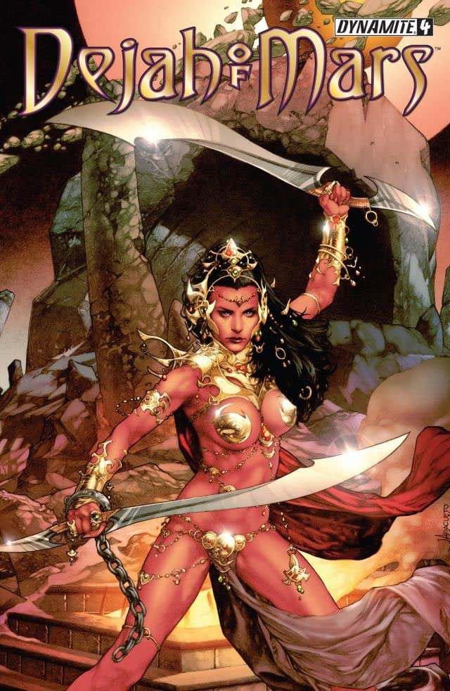 Dejah Of Mars #4 (of 4): Digital Exclusive Edition