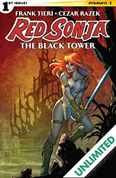 Red Sonja: The Black Tower #1 (of 4): Digital Exclusive Edition